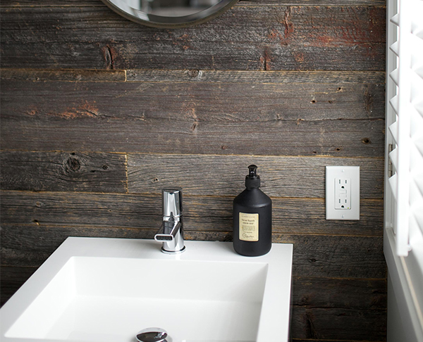 bathroom barnwood modern