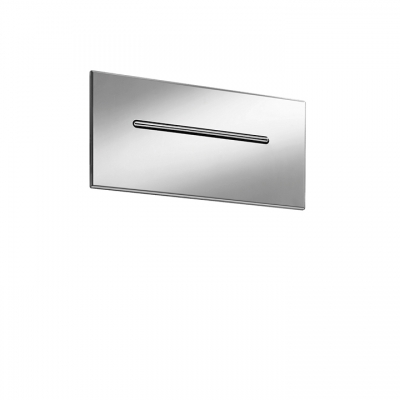 Recessed cascading chute