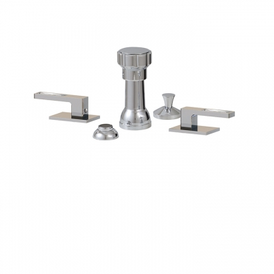4 hole bidet set WITH CRYSTAL