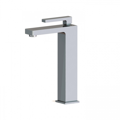 Tall single-hole lavatory faucet