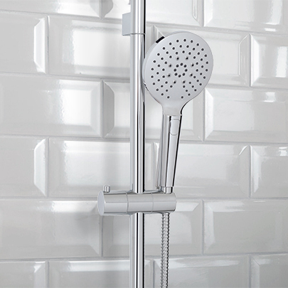 Shower Rails and Components