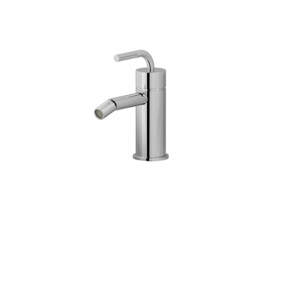Single-hole bidet with swivel spray