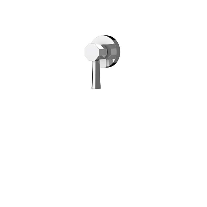 Otto handle for thermostatic valve