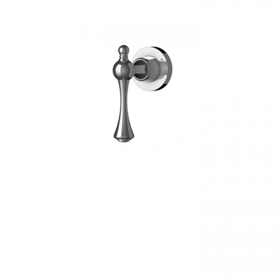 Regency handle for thermostatic valve