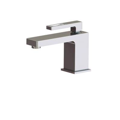 Single-hole lavatory faucet WITH CRYSTAL