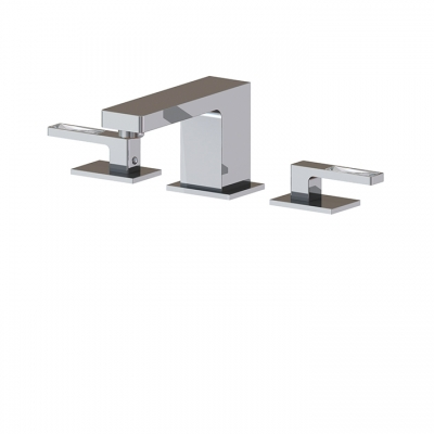 Widespread lavatory faucet WITH CRYSTAL