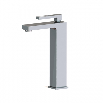 Tall single-hole lavatory faucet WITH CRYSTAL